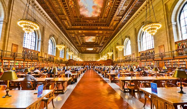 Getting a humanities education in the library