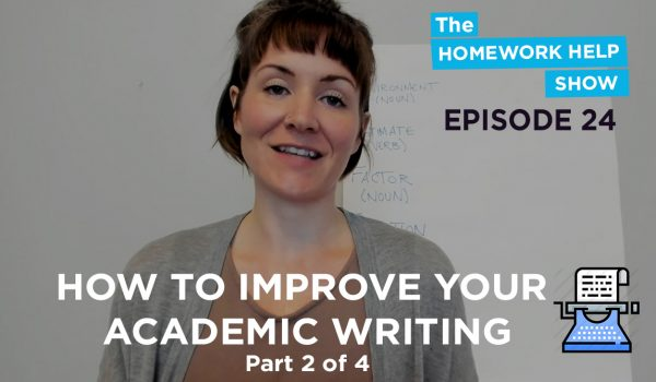 Cath Anne on academic writing part 2