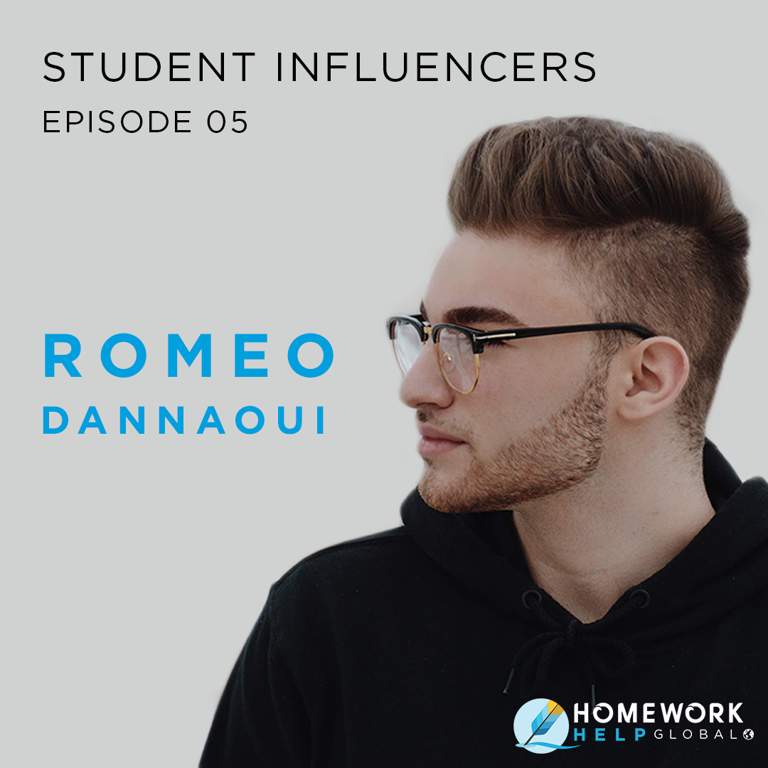 Student Influencers EP5 with Romeo Dannaoui discussing immigration and health science