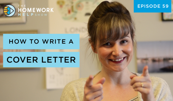 Cath Anne discusses how to write a cover letter and land a summer job