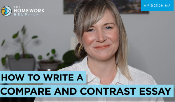 Cath Anne discusses how to write a compare and contrast essay