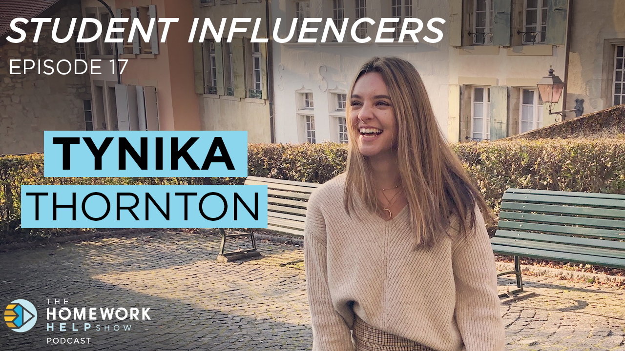 University of Exeter student Tynika Thornton talking about studying abroad