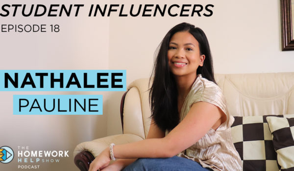 University of Toronto student Nathalee Pauline sharing tips on how to become an influencer and more on our podcast